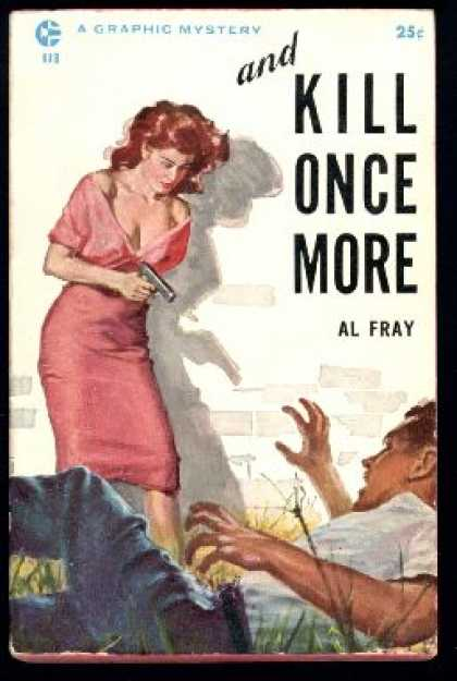 Graphic Books - And Kill Once More - Al Fray