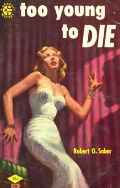 Graphic Books - Too Young To Die - Robert O. Saber