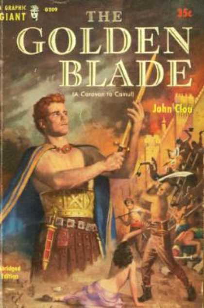 Graphic Books - The Golden Blade - John Clou