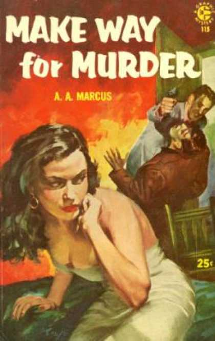 Graphic Books - Make Way for Murder - A. A. Marcus