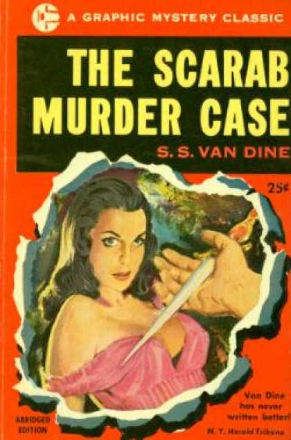 Graphic Books - The Scarab Murder Case -- Abridged - S.s. Van Dine