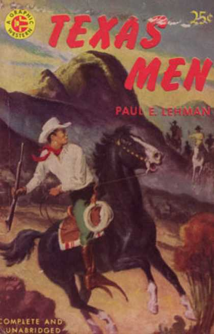 Graphic Books - Texas Men - Paul Evan Lehman