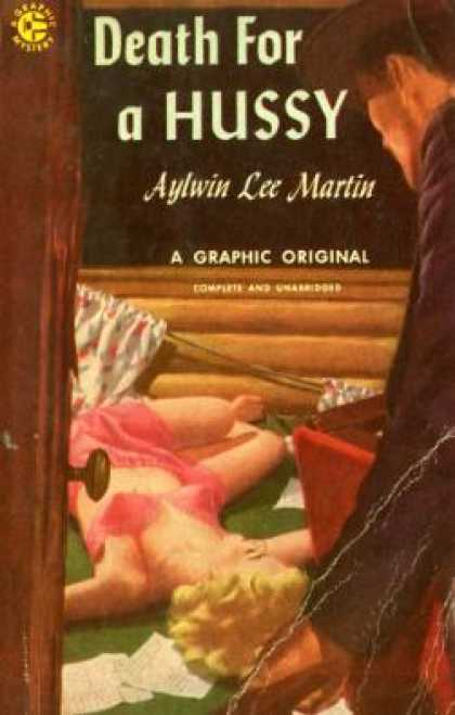 Graphic Books - Death for a Hussy - Aylwin Lee Martin
