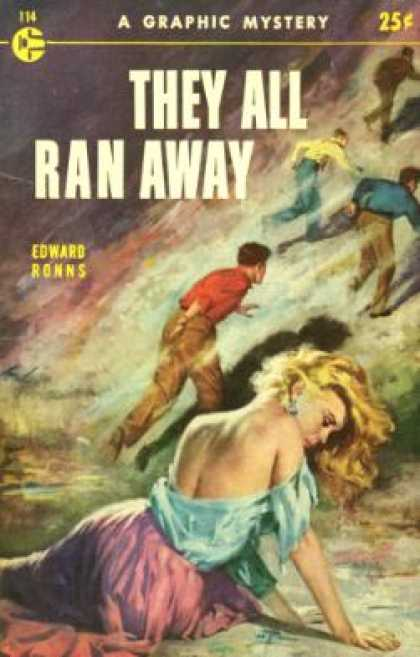 Graphic Books - They All Ran Away - Edward Ronns