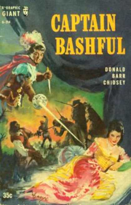 Graphic Books - Captain Bashful - Donald Barr Chidsey