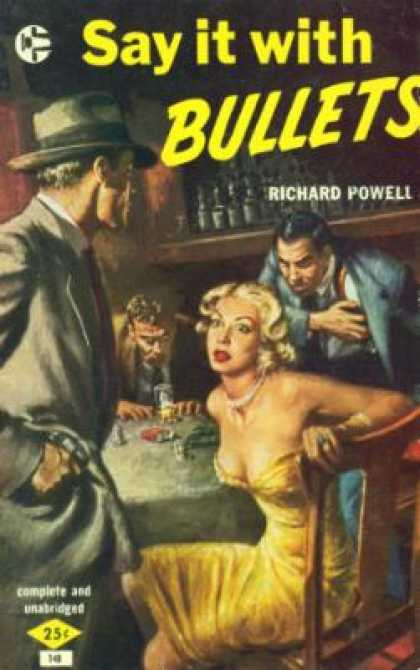 Graphic Books - Say It With Bullets - Richard Powell