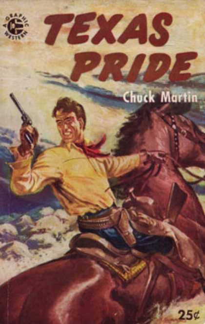 Graphic Books - Texas Pride - Chuck Martin