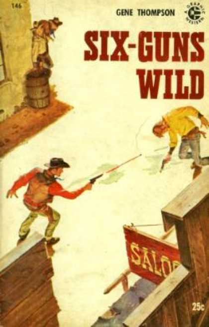 Graphic Books - Six-guns Wild - Gene Thompson