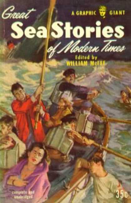 Graphic Books - Great Sea Stories of Modern Times