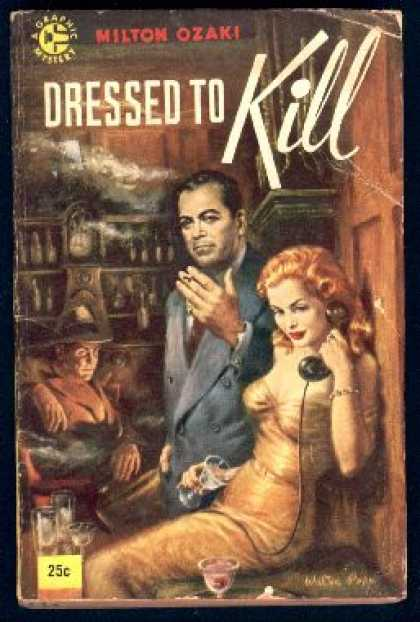 Graphic Books - Dressed To Kill - Milton K. Ozaki