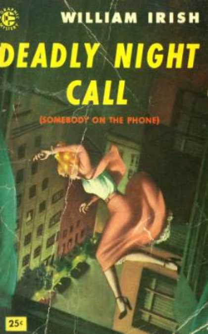 Graphic Books - Deadly Night Call - William Irish