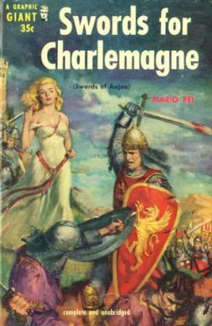 Graphic Books - Swords for Charlemagne: (a Graphic Giant) - Mario Pei