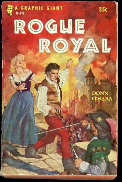 Graphic Books - Rogue Royal - Donn O'hara