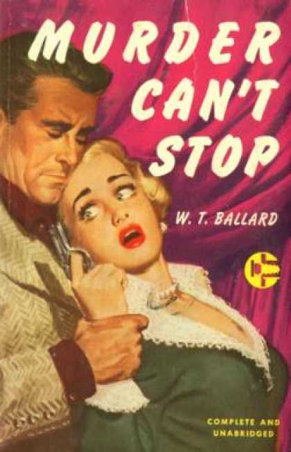 Graphic Books - Murder Can't Stop - W. T. Ballard
