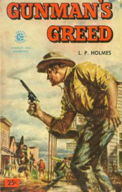 Graphic Books - Gunman's Greed - L. P. Holmes