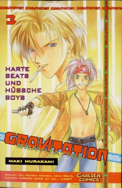 Gravitation 3 - Anime - Headband - Necklace - Open Shirt - Blue Jeans