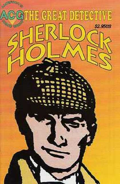 Great Detective Sherlock Holmes 2 - Hat - Man - Orange - Yellow - Acg