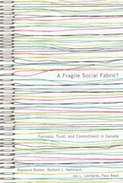 Greatest Book Covers - A Fragile Social Fabric?