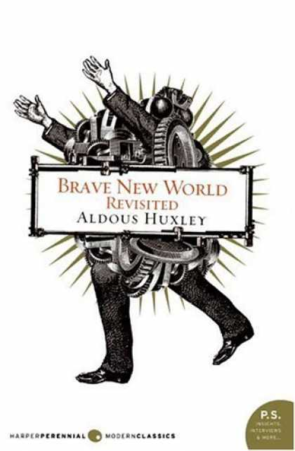 Greatest Book Covers - Brave New World Revisited