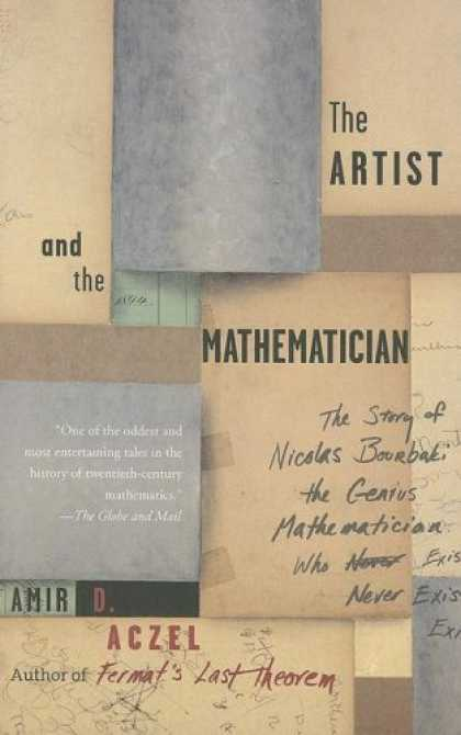 Greatest Book Covers - The Artist and the Mathematician