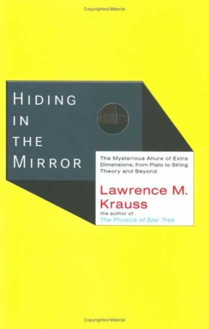 Greatest Book Covers - Hiding in the Mirror