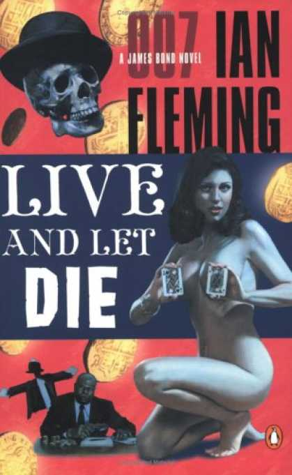 Greatest Book Covers - Live and Let Die