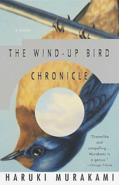 Greatest Book Covers - The Wind-Up Bird Chronicle