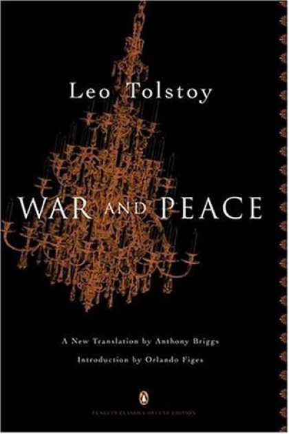 Greatest Book Covers - War and Peace
