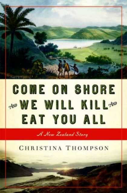 Greatest Book Covers - Come on Shore and We Will Kill and Eat You All