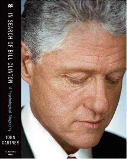 Greatest Book Covers - In Search of Bill Clinton