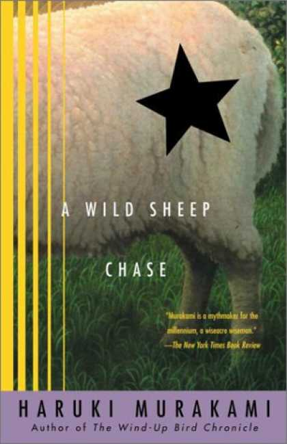 Greatest Book Covers - A Wild Sheep Chase