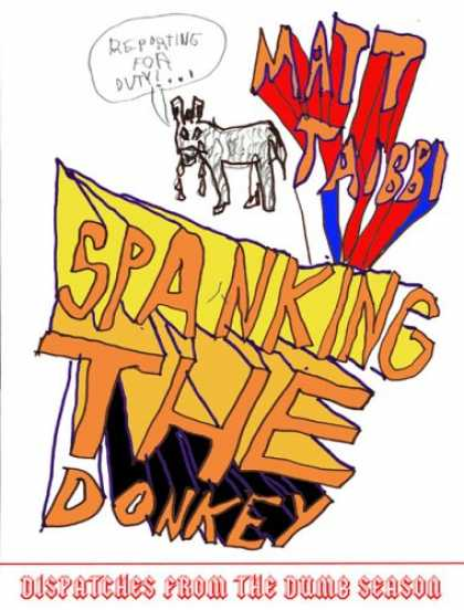 Greatest Book Covers - Spanking the Donkey