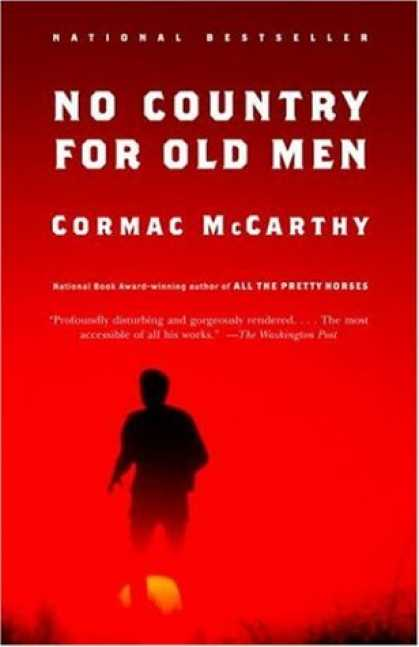 Greatest Book Covers - No Country for Old Men