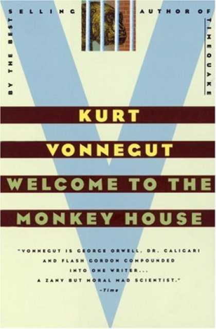 Greatest Book Covers - Welcome to the Monkey House