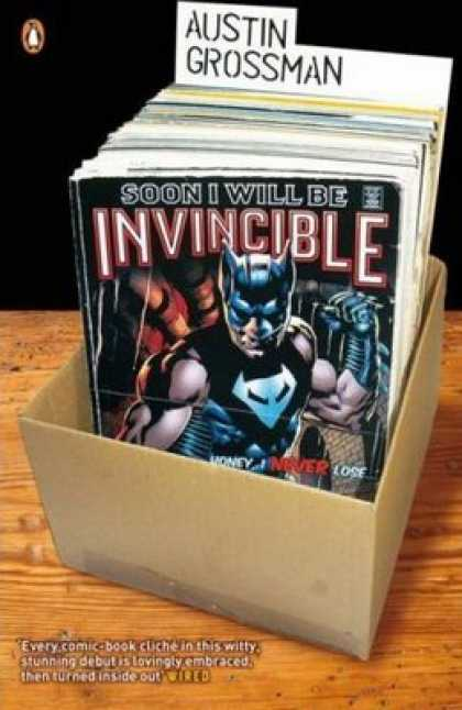 Greatest Book Covers - Soon I Will Be Invincible