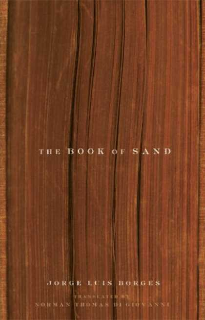 Greatest Book Covers - The Book of Sand and Shakespeare's Memory
