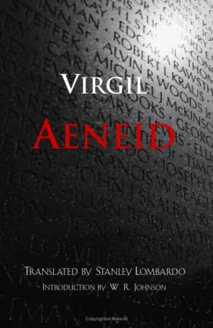 Greatest Book Covers - Aeneid