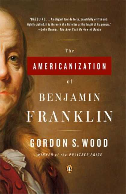 Greatest Book Covers - The Americanization of Benjamin Franklin