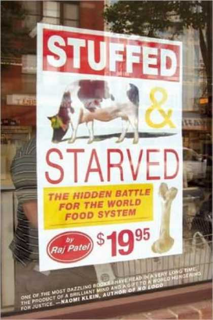 Greatest Book Covers - Stuffed & Starved