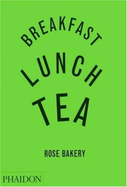 Greatest Book Covers - Breakfast, Lunch, Tea