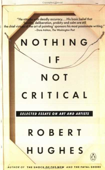 Greatest Book Covers - Nothing If Not Critical
