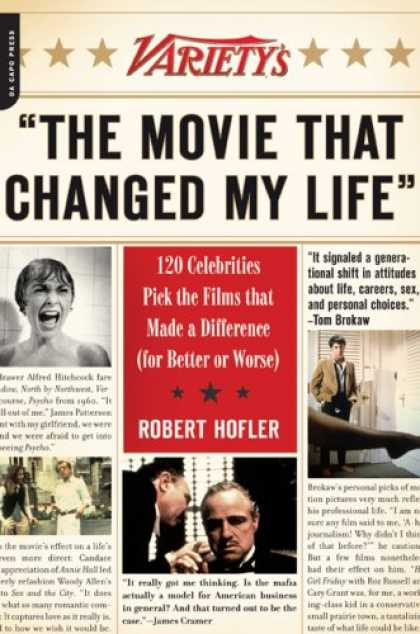 Greatest Book Covers - The Movie That Changed My Life