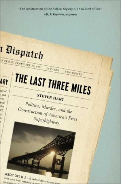 Greatest Book Covers - The Last Three Miles