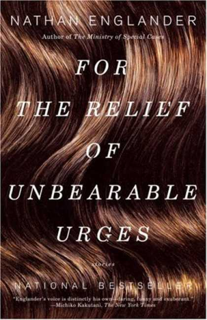 Greatest Book Covers - For the Relief of Unbearable Urges