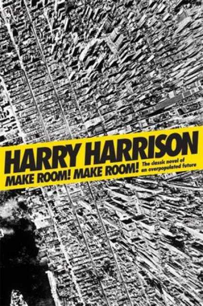 Greatest Book Covers - Make Room! Make Room!