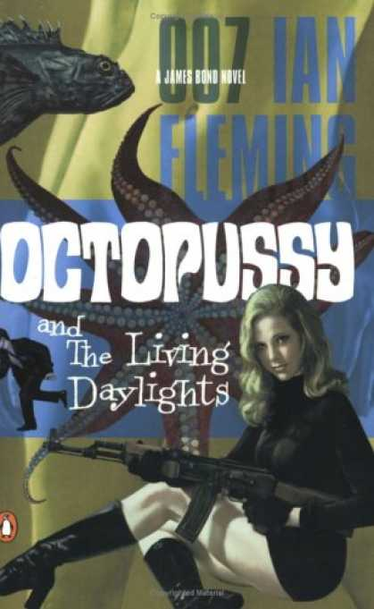Greatest Book Covers - Octopussy and The Living Daylights