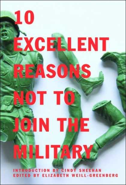 Greatest Book Covers - 10 Excellent Reasons Not to Join the Military