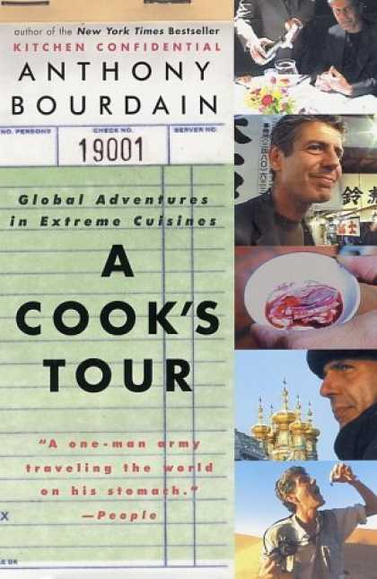 Greatest Book Covers - A Cook's Tour