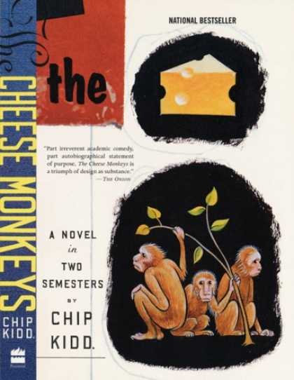 Greatest Book Covers - The Cheese Monkeys