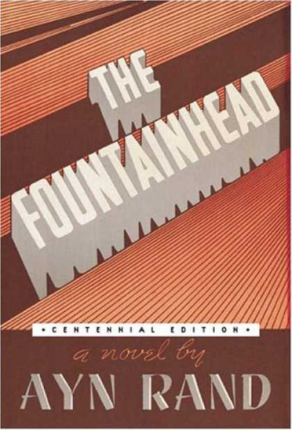 Greatest Book Covers - The Fountainhead